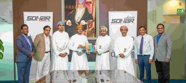 Sohar Port representatives