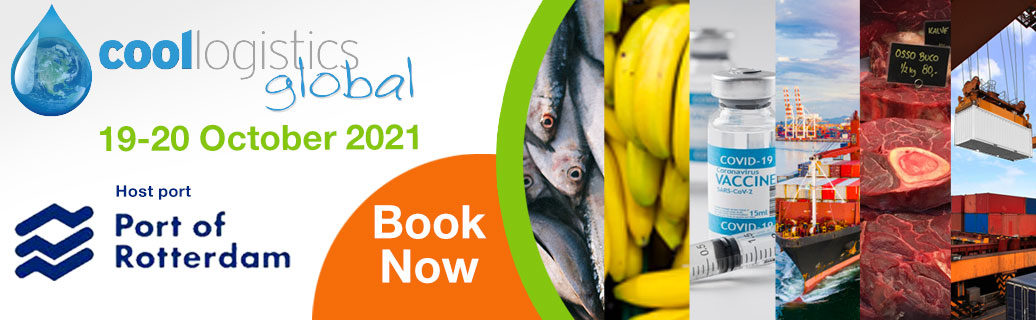 Cool Logistics Global 2021 Cold Chain Logistics Conference Banner